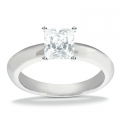 Adriana White Gold Solitaire Ring