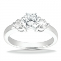 Anna White Gold Diamond Ring