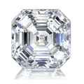 0.18 ct Asscher Cut (E VVS1, Natural) GIA Certified Loose Diamon
