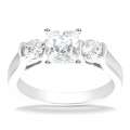 Audrey White Gold Diamond Ring