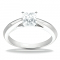 Caroline White Gold Solitaire Ring
