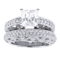Elena white Gold Diamond Ring
