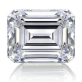 0.19 ct Emerald Cut (D VVS2, Natural) GIA Certified Loose Diamon