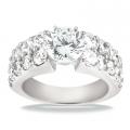 Giselle White Gold Diamond Ring