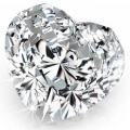 0.40 ct Heart Shape (D VVS1, Natural) GIA Certified Loose Diamon