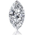 0.19 ct Marquise Cut (D VVS1, Natural) GIA Certified Loose Diamo