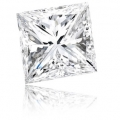 0.18 ct Princess Cut (D VS1, Natural) GIA Certified Loose Diamon