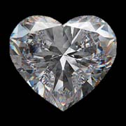 heart shape diamonds